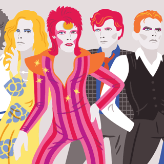 Changes: A Timeline of David Bowies