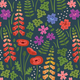 English Country Garden Pattern