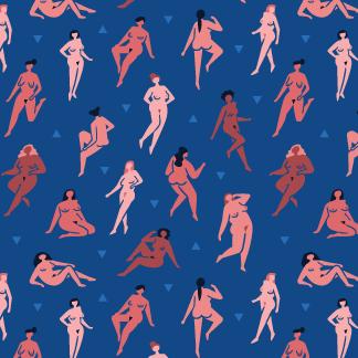 Naked Ladies Pattern