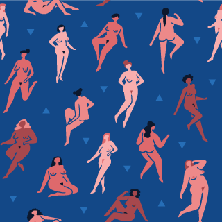 Naked Ladies Pattern